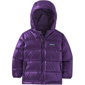 Patagonia Hi-Loft Down Sweater Hoody Baby Kids purple